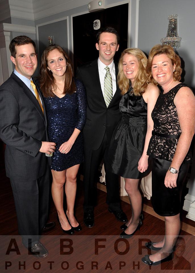 Andrew Soltos (EDA Contractors), Kiera Daly (Devine + Partners), Conor Daly (Ricoh Legal), Brienne Ryan (YMCA Philadelphia + Vicinity), Caitlin Ryan (NSM Insurance Group)