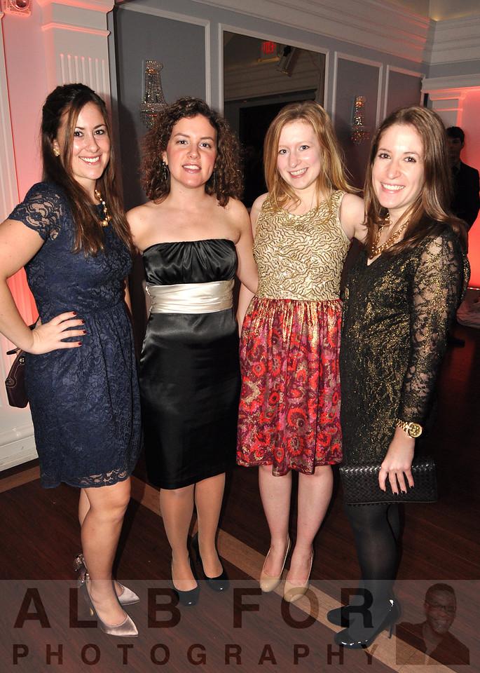 Kelly Fulhs (KPMG), Ashley Wertman (Deloitte), Elizabeth Shiah (Student) with Andrea Shiah (Deloitte)