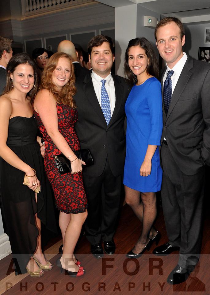 Kate Weissman, Lizzie Hampton (GSA), Brien Hampton (PDA), Allison Gold (Max Van Tage) and James Russel (Siemens Healthcare)