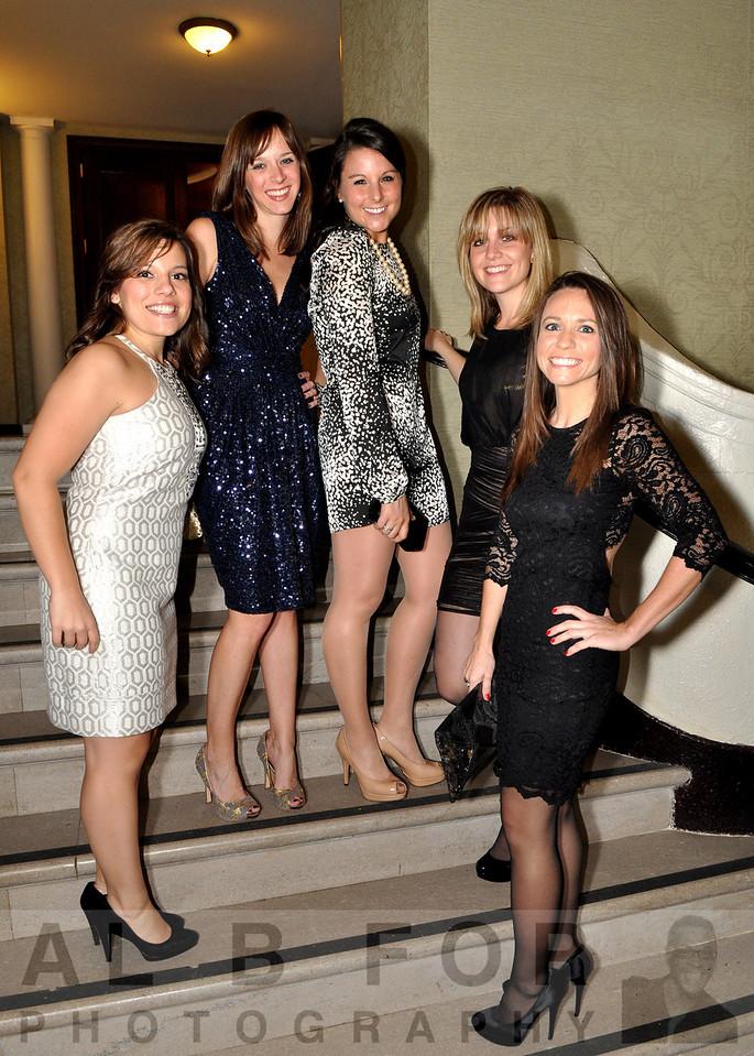 Sabrina Fitzig, Amy Babington, Katie Bartucci, Mary Beth Auriemma and Kaitlin Kunsman