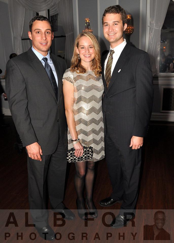 Frank Tucci (Porsche of the Main Line), Laura Botzler (Ernst & Young) with Jason Botzler (Vanguard)