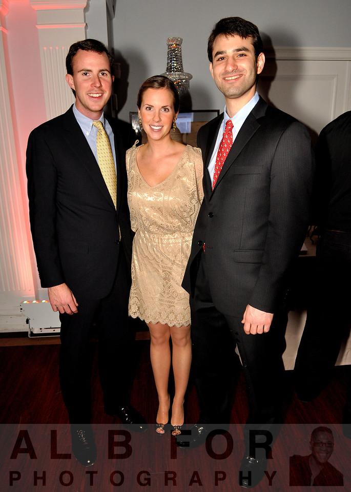 John O'Carey, Lauren Thorn with Joe Fox