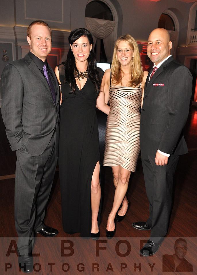 Stuart R. Young (IBM), Lindsay Kresch (IBM), Danielle Hurd (QlikView) and Oneil Hopson (IBM)