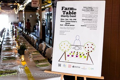 Button's Creperie hosts first annual Farm to Table Charity Event at the Trenton Farmers Market to raise funds for local organization Home Front