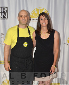 Mark Vitri & Liz Scott (Founder, Alexs Lemonade Stand Foundation)