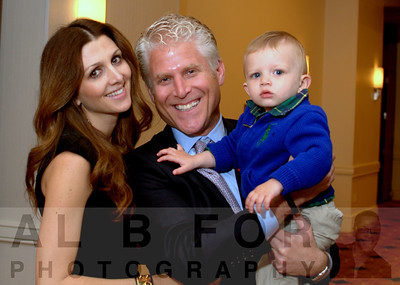 Craig S. Spitzer (CEO, a2c) with Erin and son Royce
