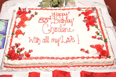 Charlene's 83rd Birthday Celebration, December 3, 2011