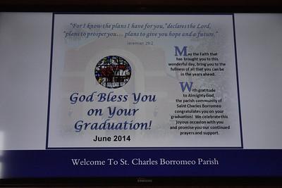 Charles 2014 Graduation Mass