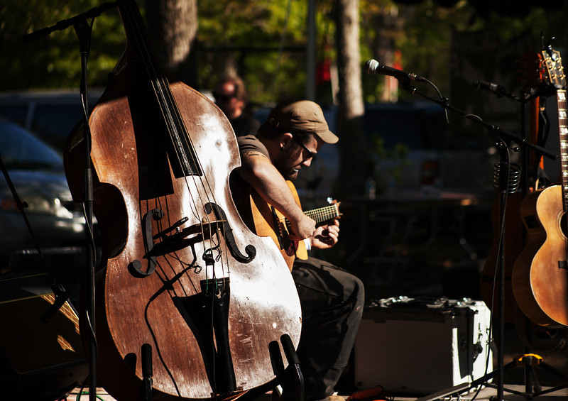 Charleston BlueGrass Festival 2012 at Awendaw Green