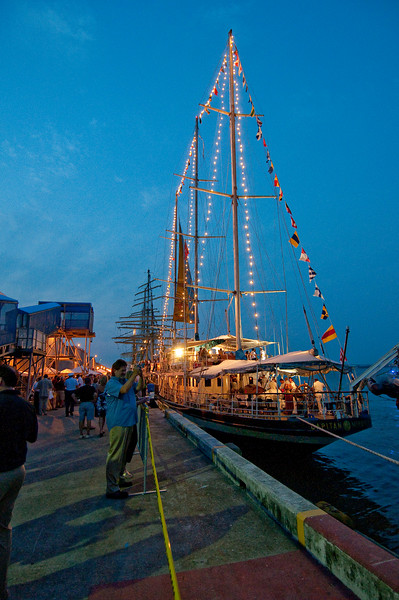 International Tall Ships Soiree - Capitan Miranda