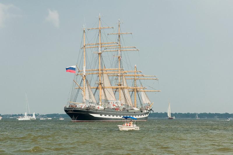 Parade of Sail, June 29th, 2009 - Kruzenshtern, Russia