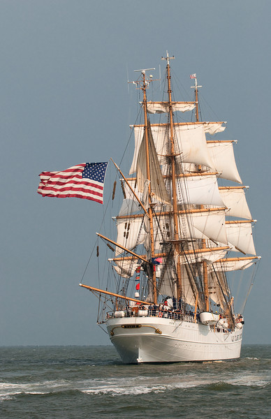 Parade of Sail, June 29th, 2009 - USCGC Eagle