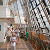 Barque Kruzenshtern, Russian tall ship