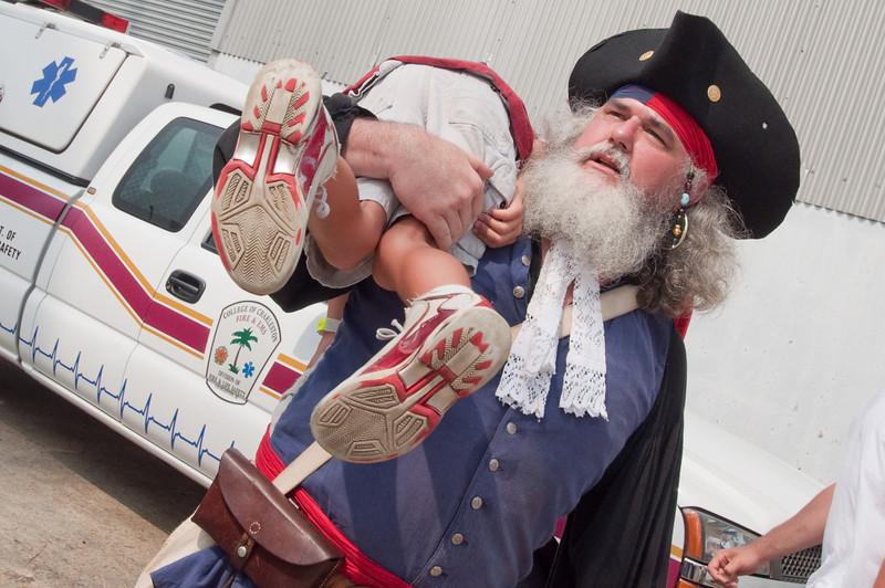 Pirate captures child