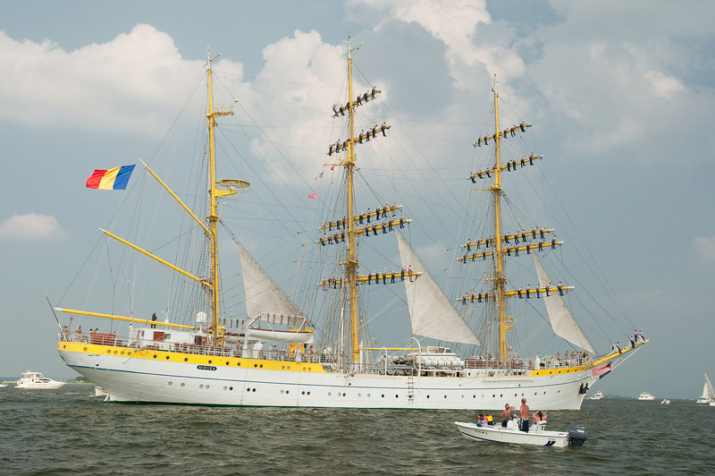 Parade of Sail, June 29th, 2009 - Mircea, Romania