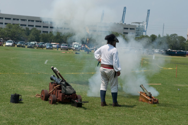 Cannon demonstration