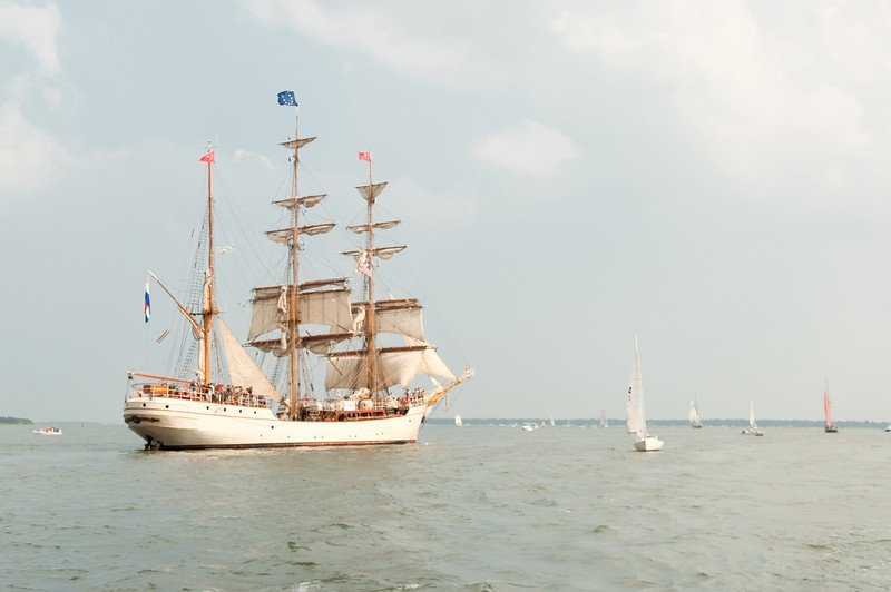 Parade of Sail, June 29th, 2009 - Europa, The Netherlands