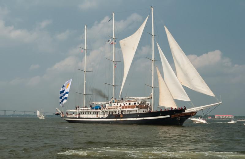 Parade of Sail, June 29th, 2009 - Capitan Miranda, Uruguay