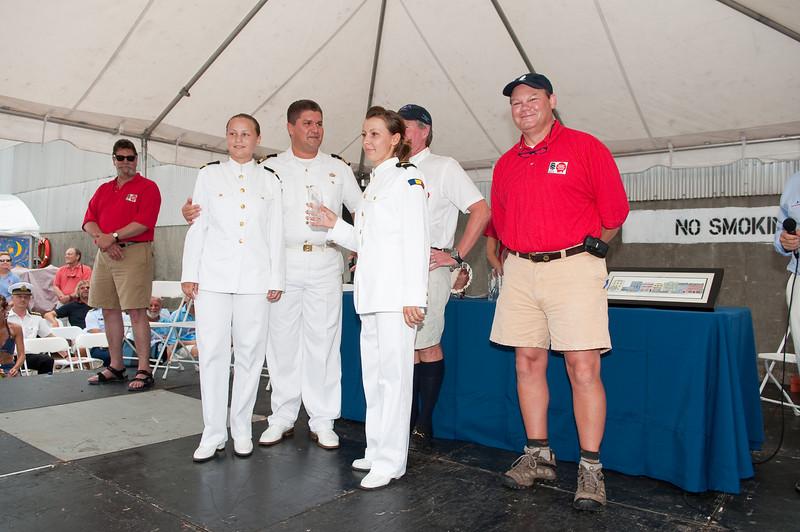 Tall Ship Atlantic Challenge Awards Presentation