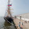 Barque Kruzenshtern, Russian tall ship