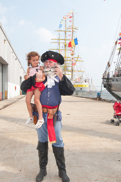 Pirate captures another child