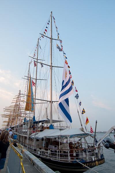 International Tall Ships Soiree - Capitan Miranda, Schooner from Uruguay