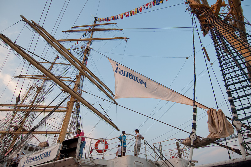 International Tall Ships Soiree - Barque Kruzenshtern, Russian tall ship