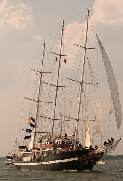 Parade of Sail, June 29th, 2009 - Capitan Miranda, Uruguay