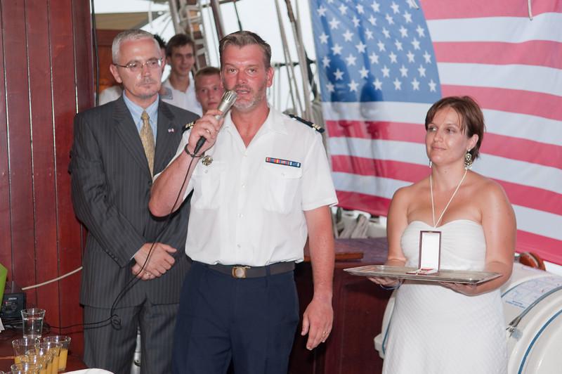 Legion of Honor Pinning Ceremony