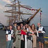 International Tall Ships Soiree with Kruzenshtem in background