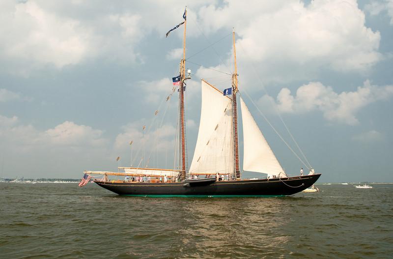 Parade of Sail, June 29th, 2009 - Schooner Virginia