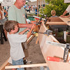 Family Boat Building activity