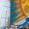 Fun sail on the Capitan Miranda, Schooner from Uruguay