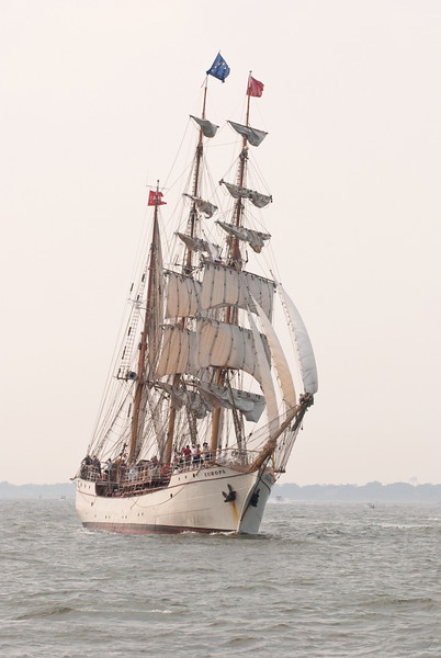 Parade of Sail, June 29th, 2009 - Europa , The Netherlands