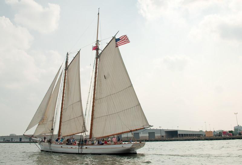 Parade of Sail, June 29th, 2009 -Spirit of South Carolina