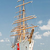 USCGC Eagle in Charleston, SC harbor