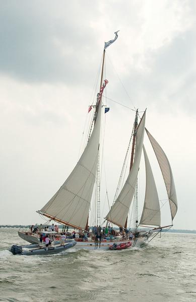 Parade of Sail, June 29th, 2009 - Spirit of South Carolina