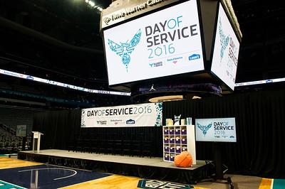 Charlotte Hornets 2016 Day of Service 6-20-16 by Jon Strayhorn
