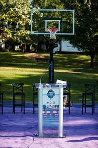 Hornets Legacy Project Dedication Ceremony Jr. NBA Clinic @ Latta Park 10-18-16 by Jon Strayhorn