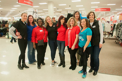 Spencer Hawes Of The Charlotte Hornets Holiday Shopping Giving Back To Local Military Families @ Target 12-13-15