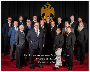 2012 Fall Class Picture