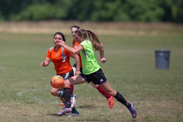 Charlottesville Women's Soccer Spring Tournament