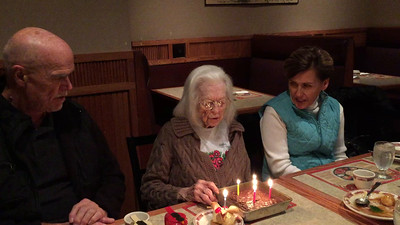 Video - blowing out the candles.