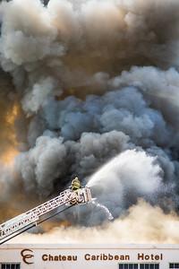 Chateau Caribbean Hotel Fire