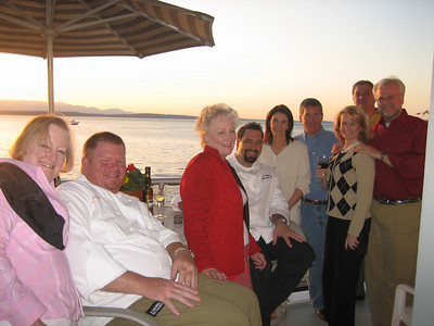 Chefs Dinner Party on Alki: April 2006