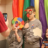 Chelmsford Winterfest. John Flint of Littleton, left, takes photos of sons T.J., 5, Howie, 8, and Sam Flint, 3, and a do-it-youself photo booth. (SUN/Julia Malakie)