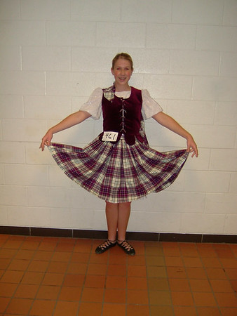 Chelsea's Fall 2005 Highland Dance Competition in Howell
