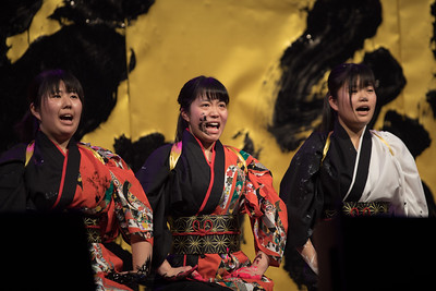 Shodo Girls (Fukuoka Prefectural Yahata Chuo High School); Cherry Blossom Festival 2018 Opening Ceremony in DC