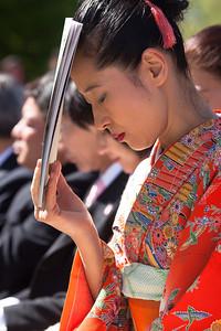 2012 Japanese Stone Lantern Lighting Ceremony on Sunday, April 8, 2012 at the Tidal Basin.