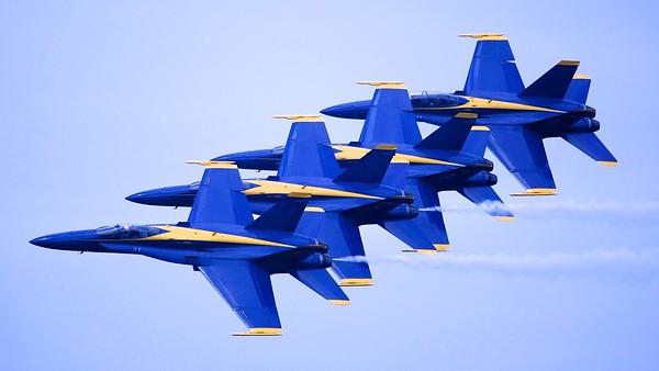 Cherry Point Air Show - Blue Angels 2012